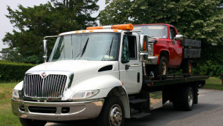 Free towing with major repair